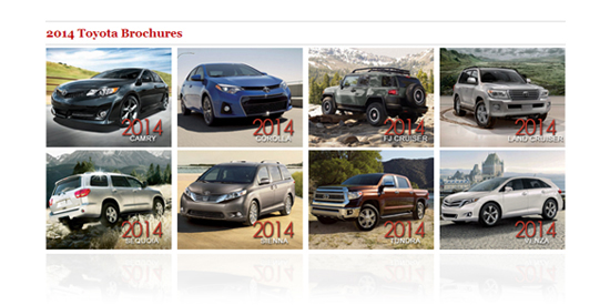 Vehicle Brochures