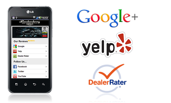 Dealer Review Integration