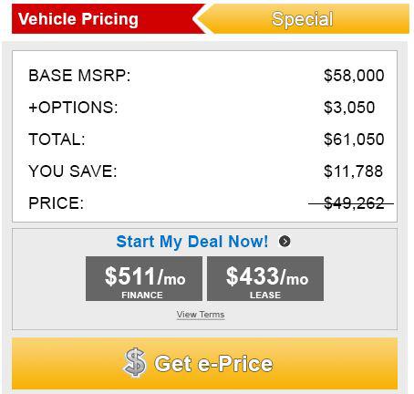 Vehicle Pricing