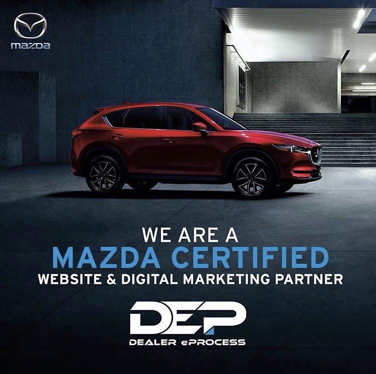 Dealer eProcess Chosen as Mazda Website Certified Provider
